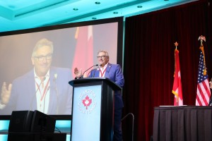 François Laporte, president of Teamsters Canada